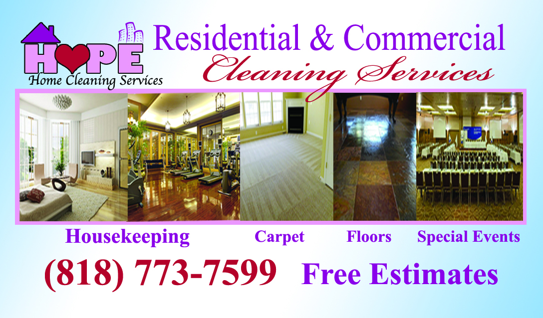 Home Cleaning Services | Housekeeper Cleaning Services, Residential & Office, Granada Hills